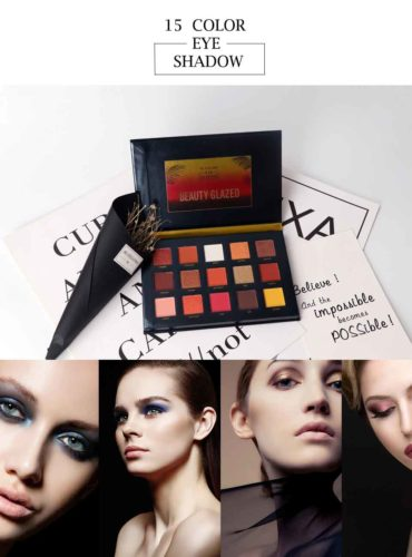15 Color Eye-shadow Palette